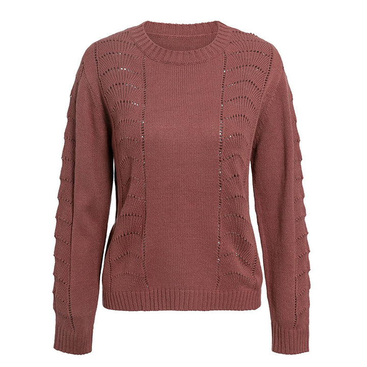 Women's Autumn/Winter Casual O-Neck Long-Sleeved Sweater