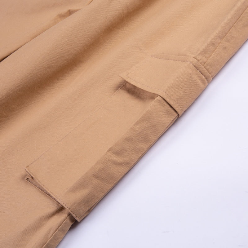 Women's Spring Casual Cargo Pants With Big Pockets