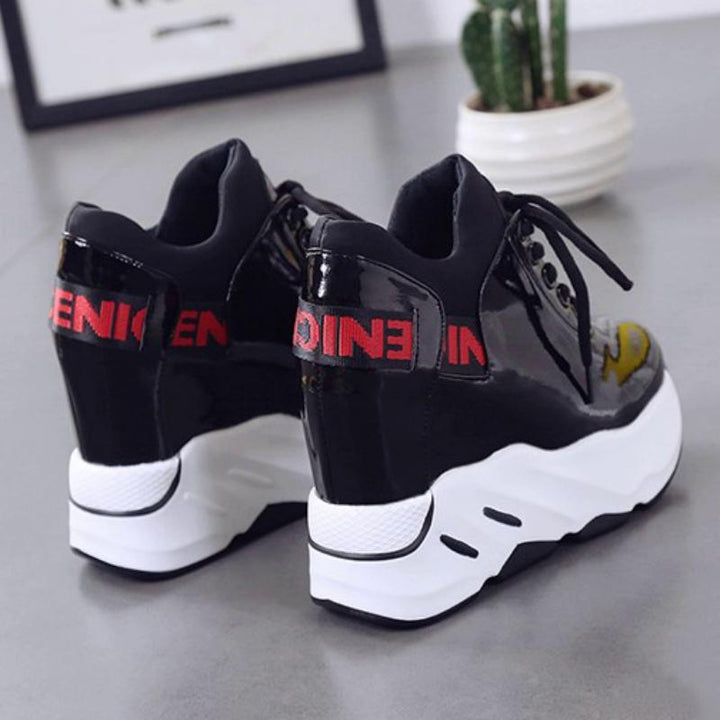 Women's Casual Waterproof Shoes With High Platform