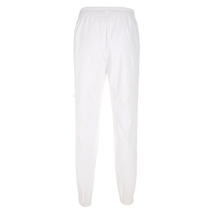 Women's Casual Loose Scratched Joggers With Pockets