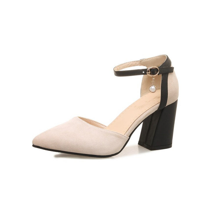 Women's Spring/Autumn Casual Sandals With Square Heels