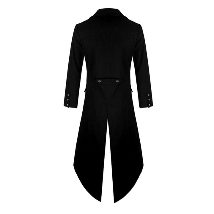 Men's Single Breasted Long Tuxedo