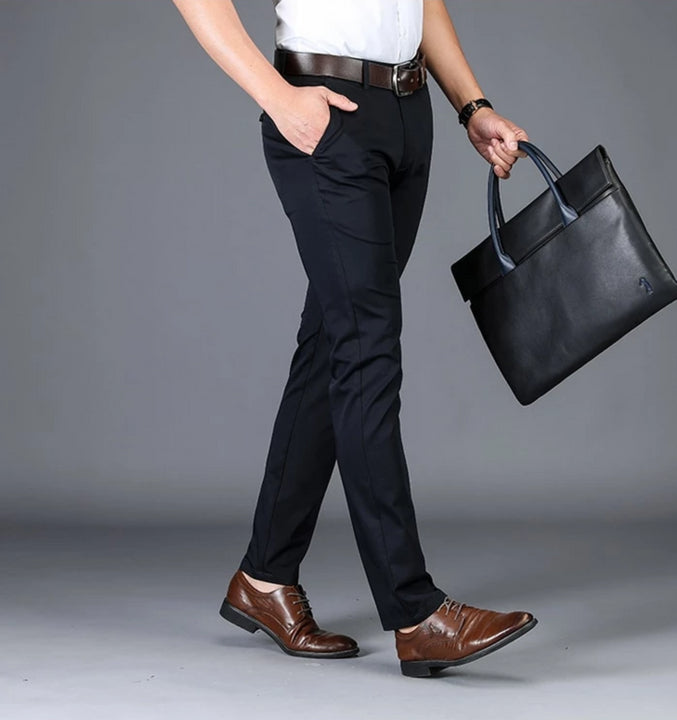 Men's Summer Casual Cotton Slim Pants