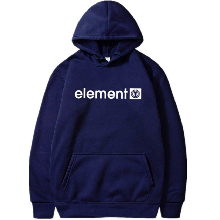 "Men's Autumn/Winter Hooded Sweatshirt ""Element"""