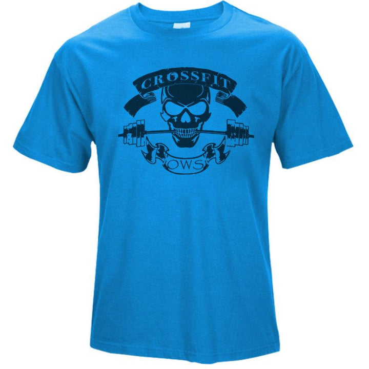 "Men's Summer Casual Cotton T-Shirt ""Crossfit Ows"""