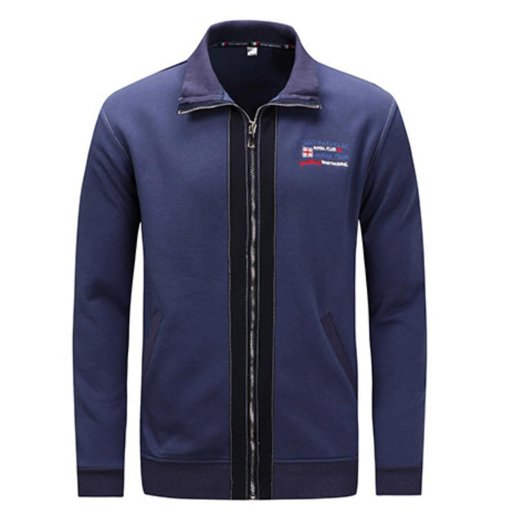 Men's Autumn/Winter Casual Jacket With Embroidery