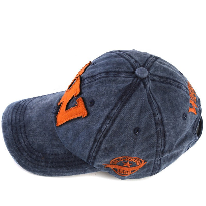Men's Cotton Baseball Cap With Embroidery