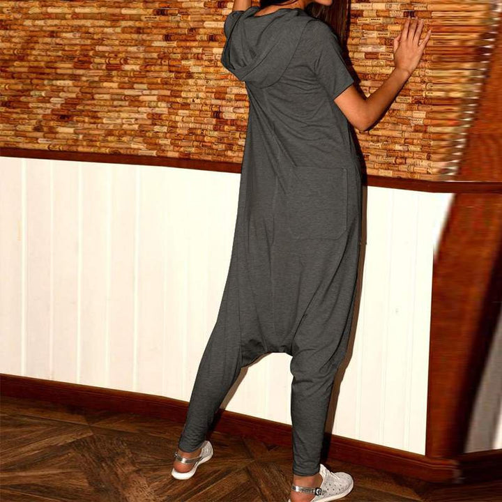 Women's Summer Casual Loose Jumpsuit With Pockets