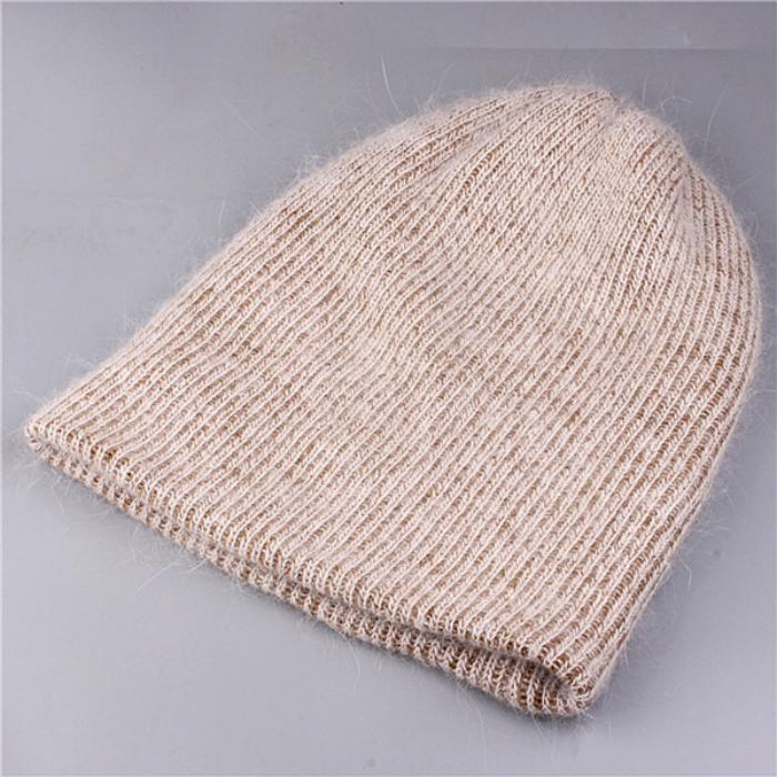 Women's Winter Rabbit Fur Hat