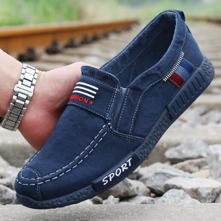Men's Spring/Autumn Casual Denim Flat Shoes