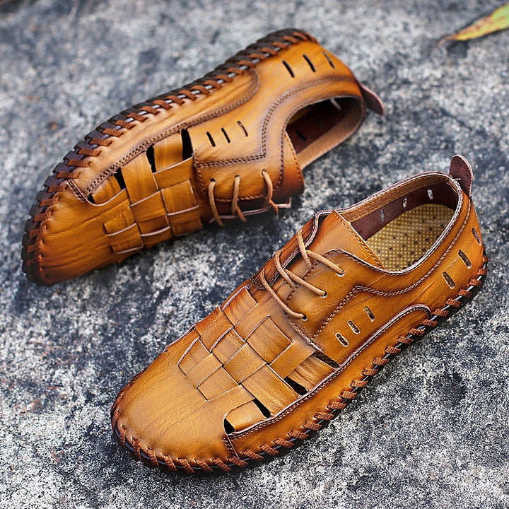 Men's Summer Casual Genuine Leather Sandals