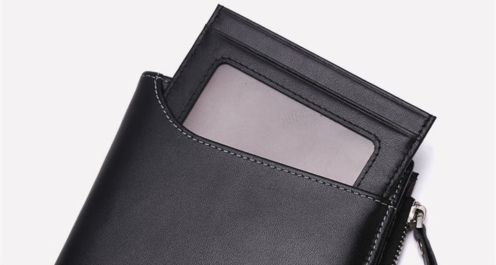 Men's Genuine Leather Slim Wallet