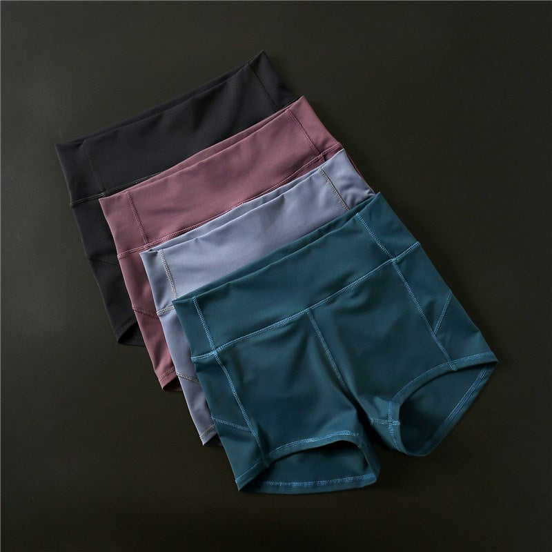 Women's High Waist Slim Tummy Control Sport Shorts