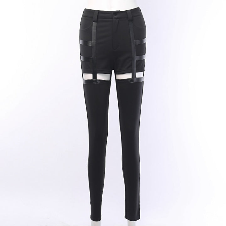 Women's Casual High Waist Skinny Pants