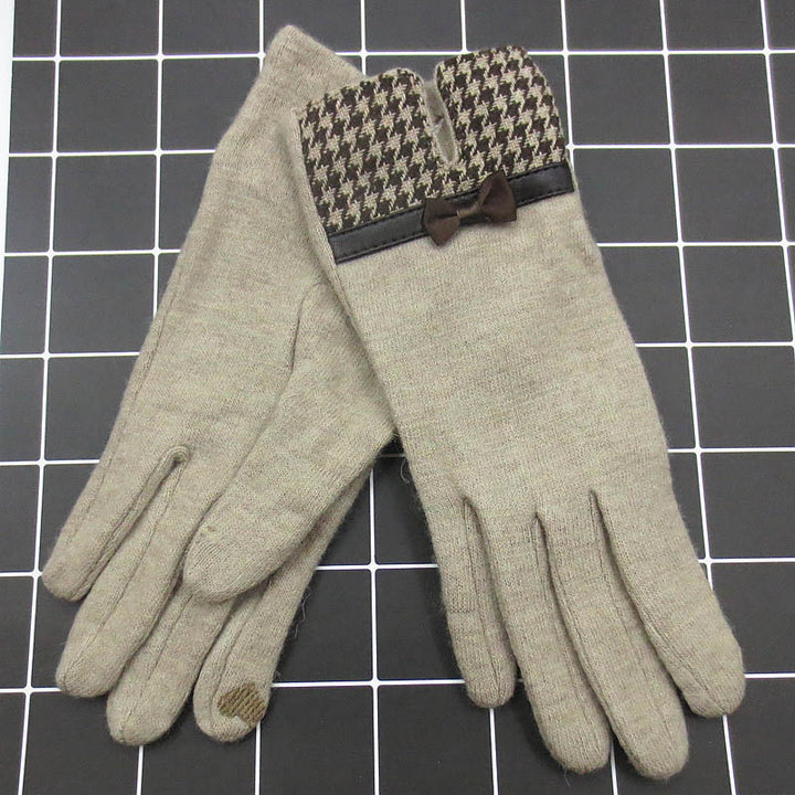 Women's Winter Wool Gloves | Touch Screen Gloves