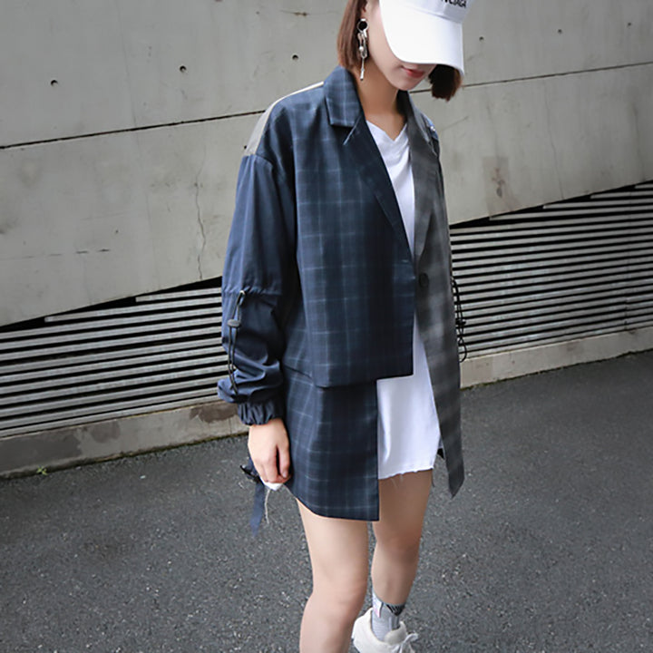 Women's Spring/Summer Cotton Loose Long-Sleeve Coat