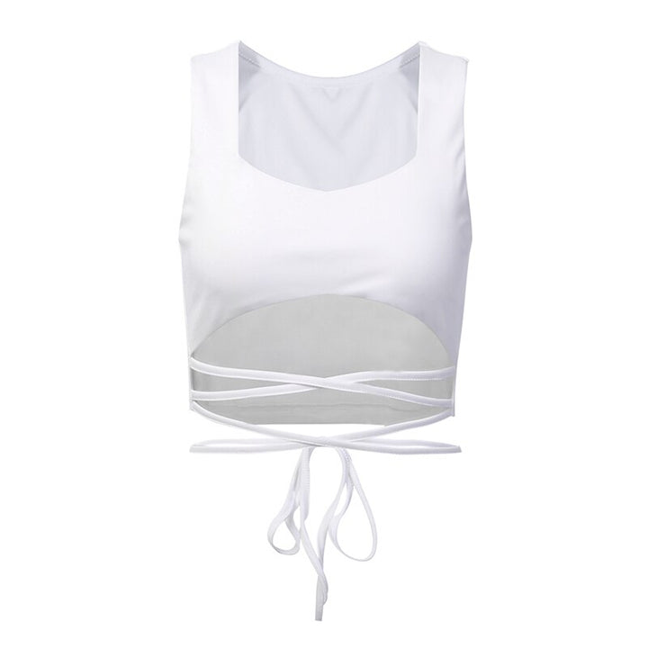 Women's Summer Casual Solid Crop Top