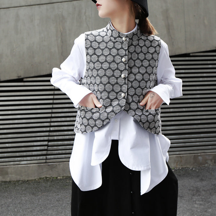 Women's Spring/Summer Long-Sleeve Blouse