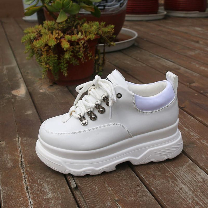 Women's Spring Casual Leather Sneakers