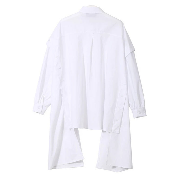 Women's Spring Long-Sleeved Loose Shirt