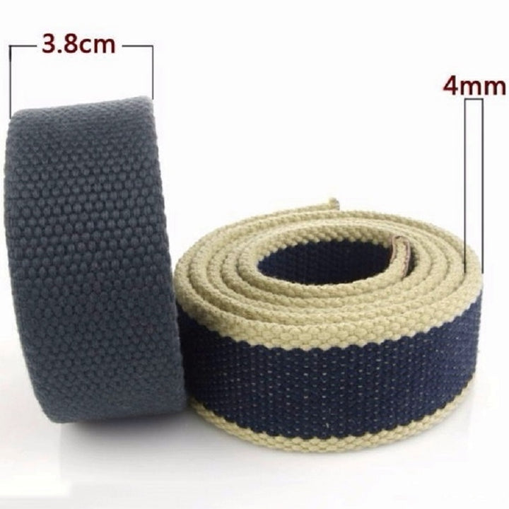 Men's Tactical Canvas Belt