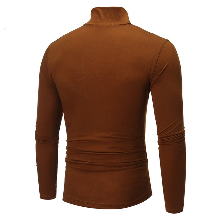Men's Autumn/Winter Solid Knitted Pullover