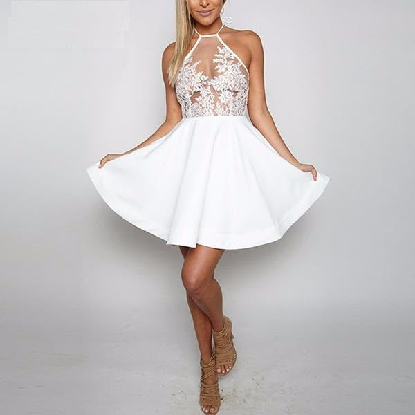 Dress – Backless Lace Dress | Zorket