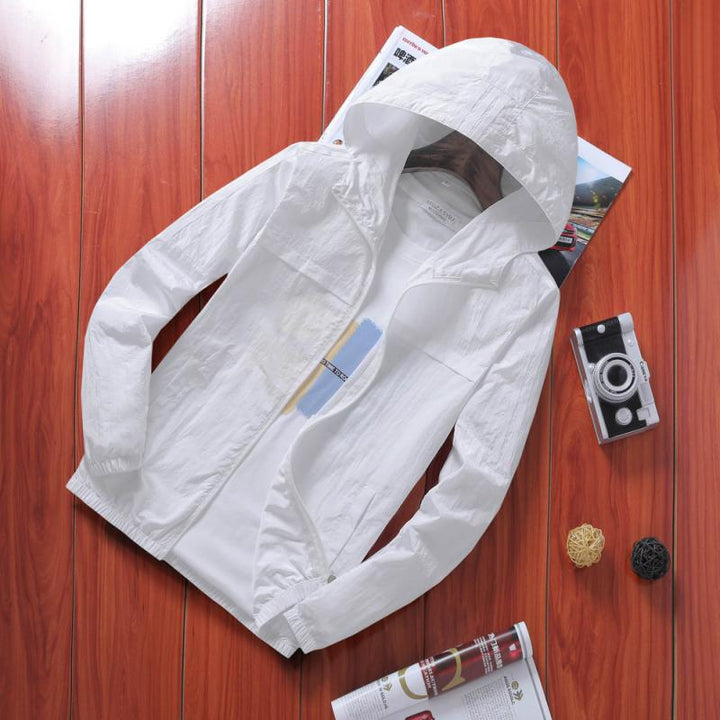 Men's Summer Casual Hooded Jacket