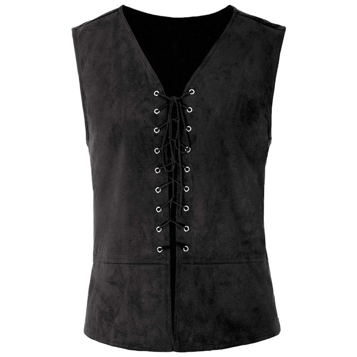 Men's Autumn/Winter Laced Up Vest