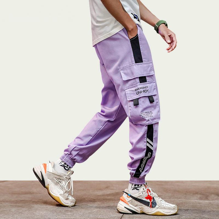 Men's Casual Sweatpants With Elastic Waist