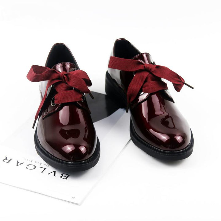Women's Spring/Autumn Casual Patent Leather Oxfords