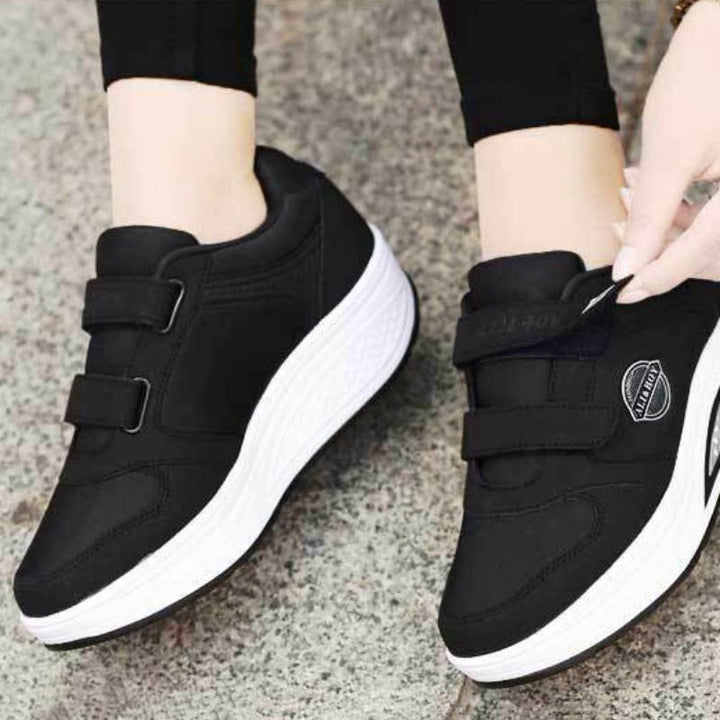 Women's Casual Platform Flat Shoes