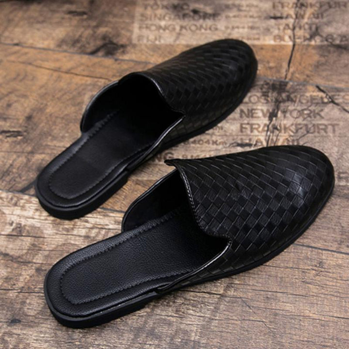 Men's Leather Lightweight Flip Flops