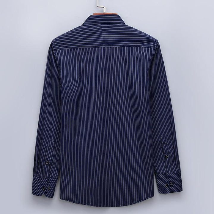 Men's Casual Long Sleeved Shirt | Plus Size