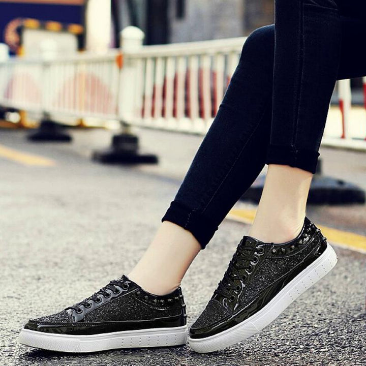Men's/Women's Casual Leather Shoes With Rivets