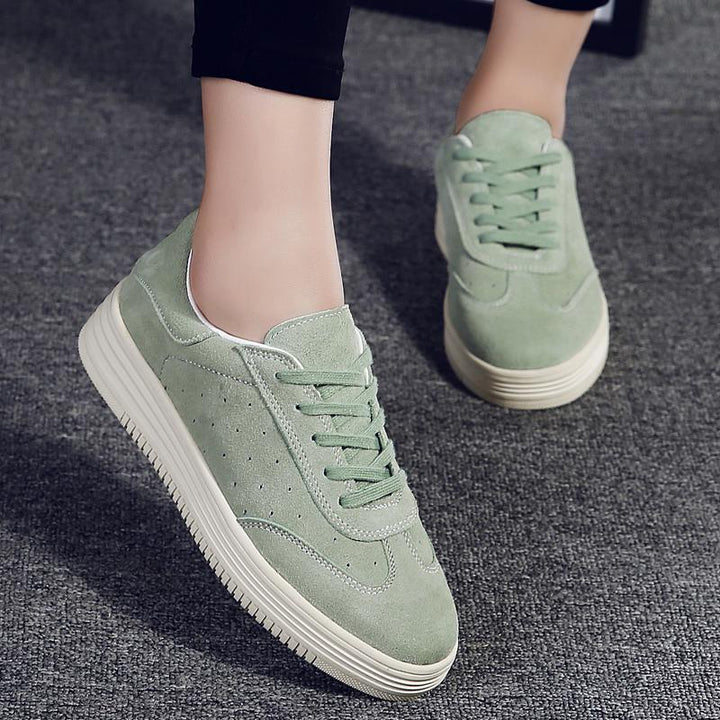 Women's Casual Canvas Platform Sneakers