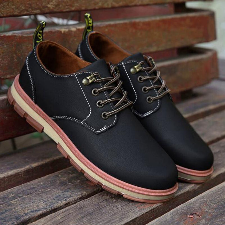 Men's Spring/Autumn Casual Leather Oxfords