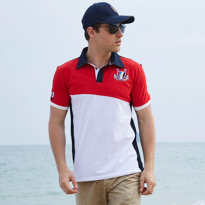 Men's Casual Cotton Polo | Plus Size