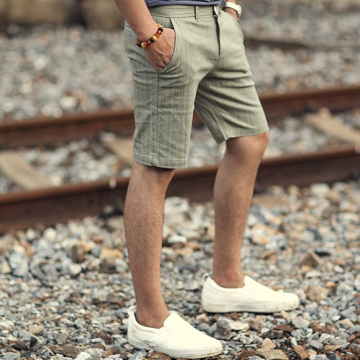 Men's Summer Casual Striped Shorts