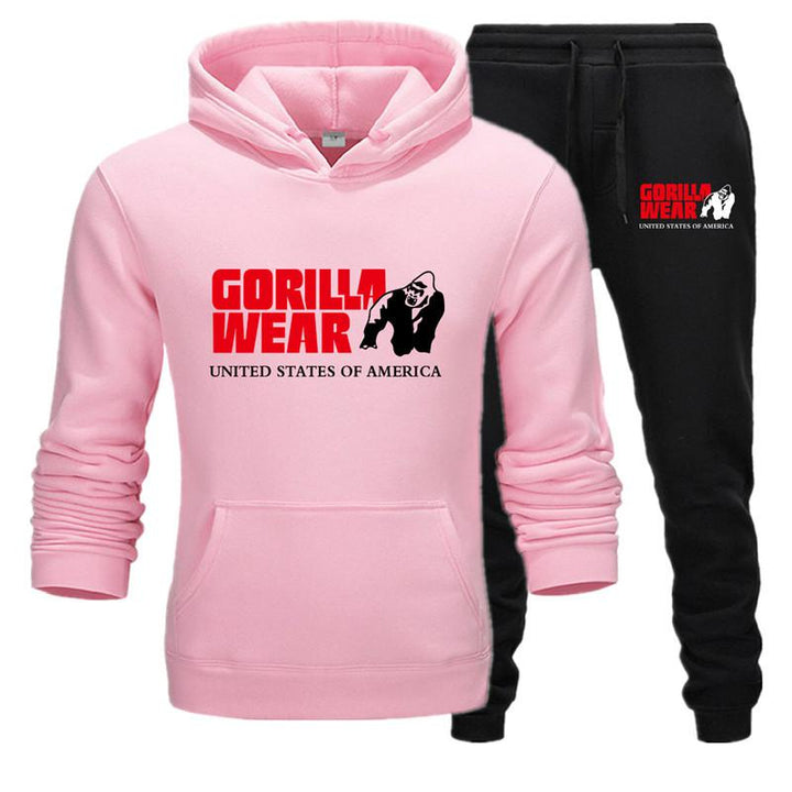 Men's Casual Tracksuit | Hoodie And Pants