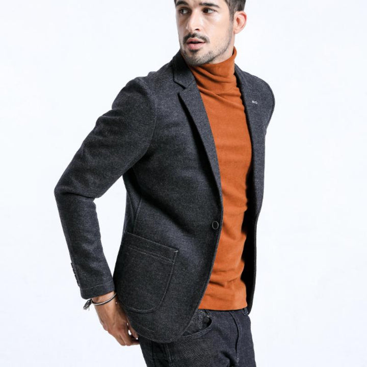 Men's Winter Casual Wool Blazer