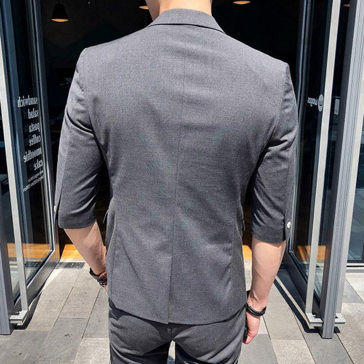Men's Fitted Suit | Blazer And Pants