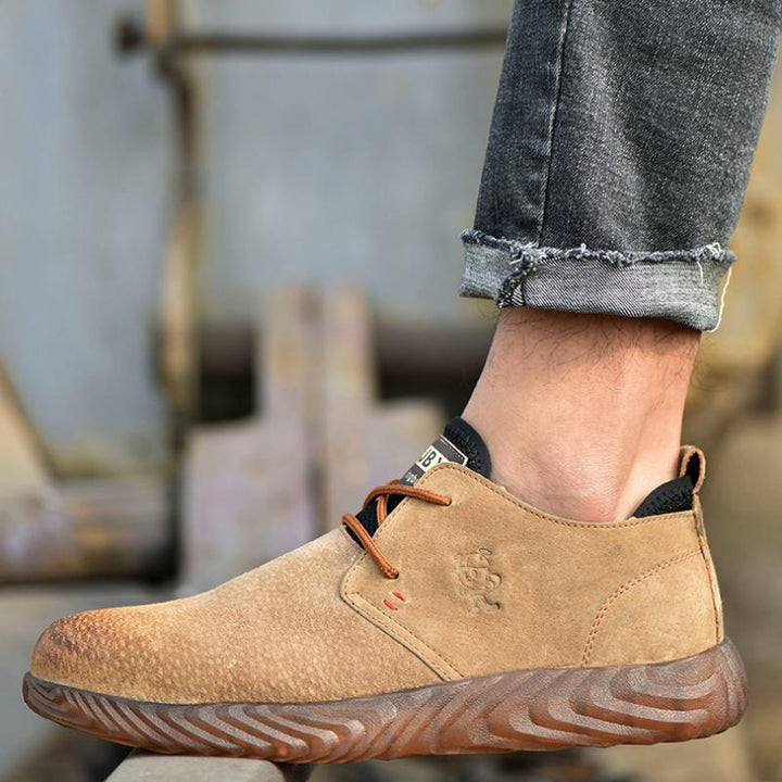 Men's Breathable Suede Anti-Slip Boots