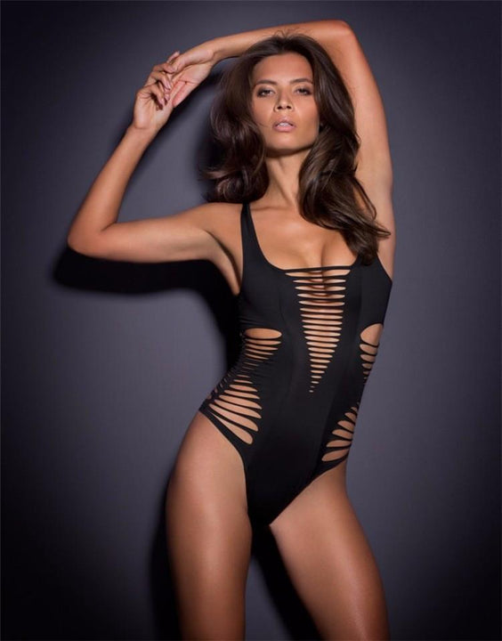 Women's One-Piece Ruffled Swimsuit