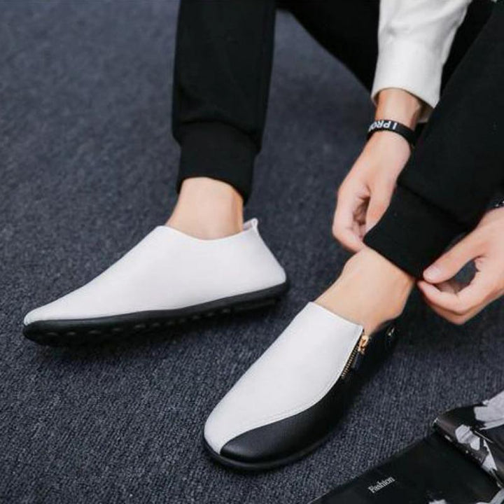 Men's Spring/Autumn Casual Leather Breathable Loafers