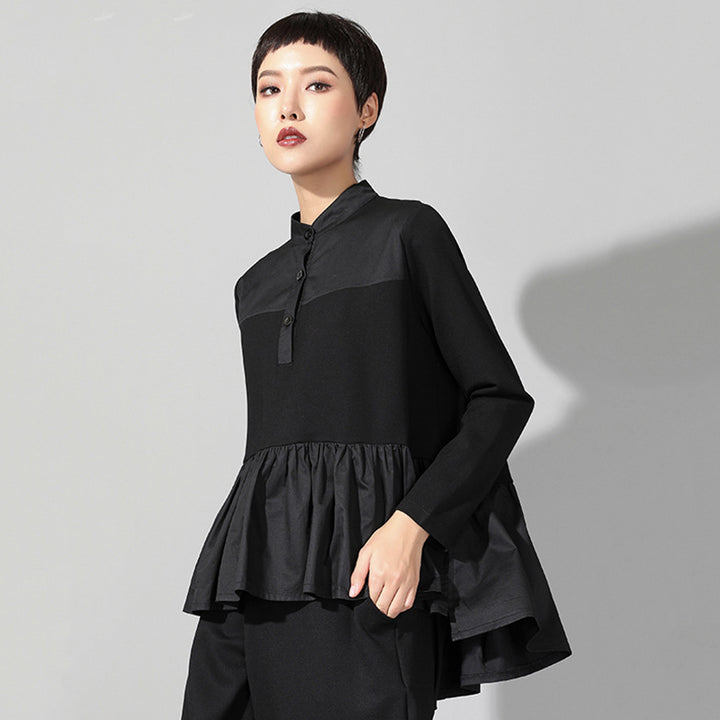 Women's Spring/Summer Long-Sleeve Loose Blouse