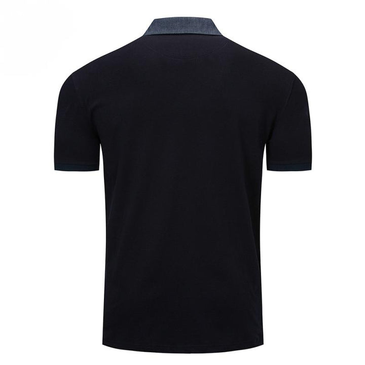 Men's Casual Breathable Polo With Embroidery