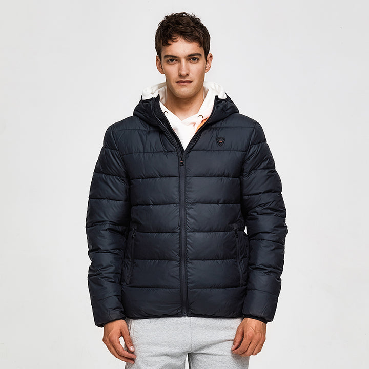 Men's Spring/Autumn Casual Hooded Padded Coat