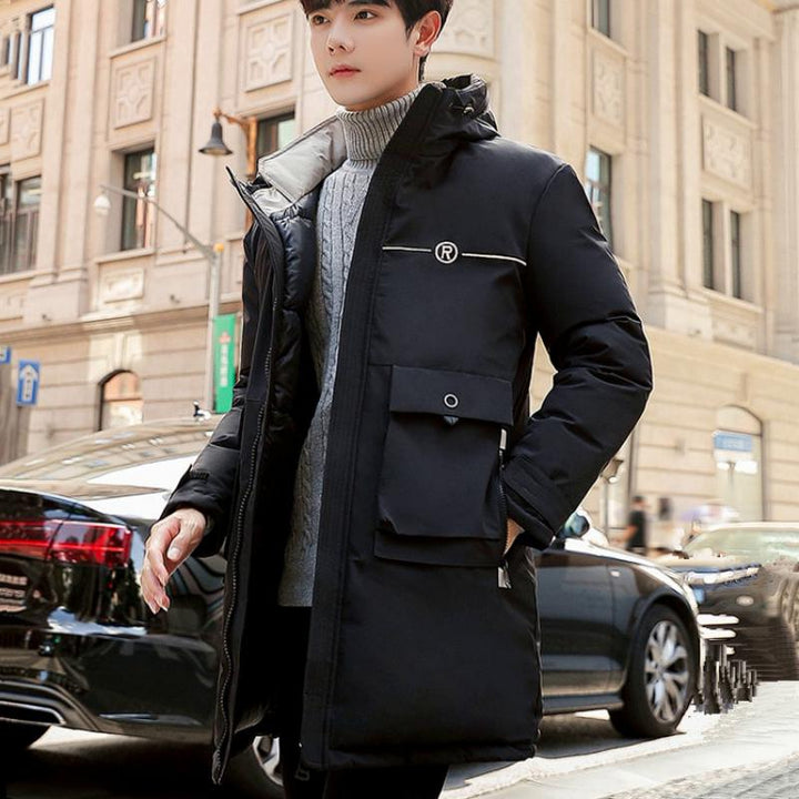 Men's Winter Casual Long Parka