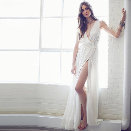 Evening Long Dress With High Slit